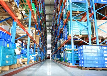 VNA Racking Aceally Warehouse Storage Solution