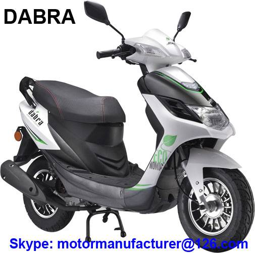DABRA Scooter JNEN Motor Popular Design 2016 Model Gasoline Scooter 50CC CDI/EFI EEC/EPA
