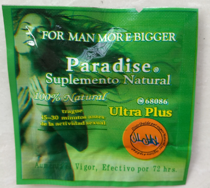 best sell sex product man enhancer paradise natural ultra plus