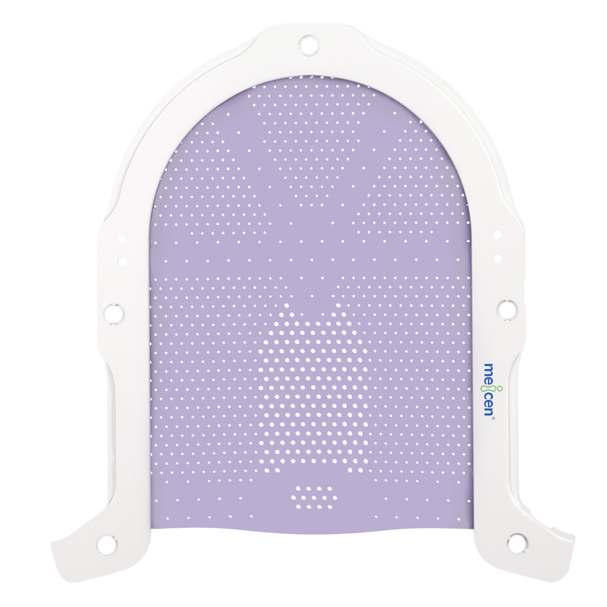 Meicen Violet S-Shaped Head Mask, thermopalstic mask for radiotherapy positioning