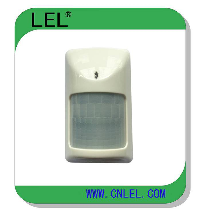 345Mhz wireless PIR detector compatible with Honeywell security wireless alarm system