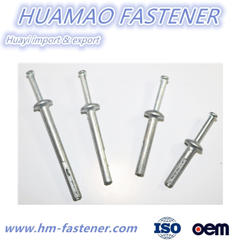 Zinc alloy hammer drive anchor China Zamac Nail Anchor