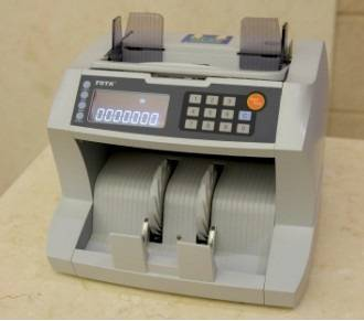 DC400 Banknote Counter (UV, IR, MT Detection)