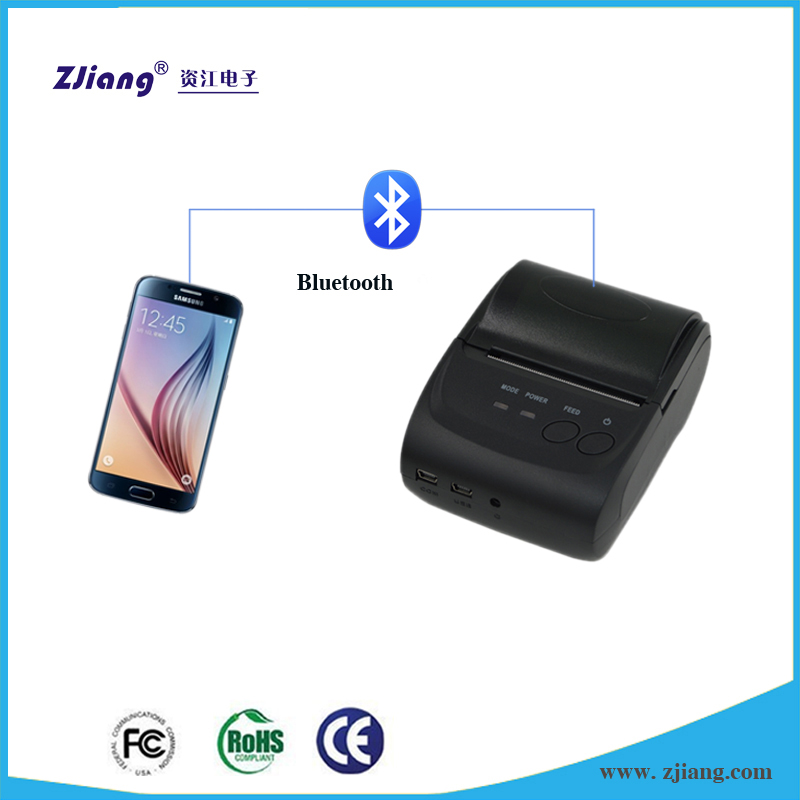 China Supplier Android Handheld Mini 58mm Portable Bluetooth Mobile Barcode Thermal Pocket Pos Recei