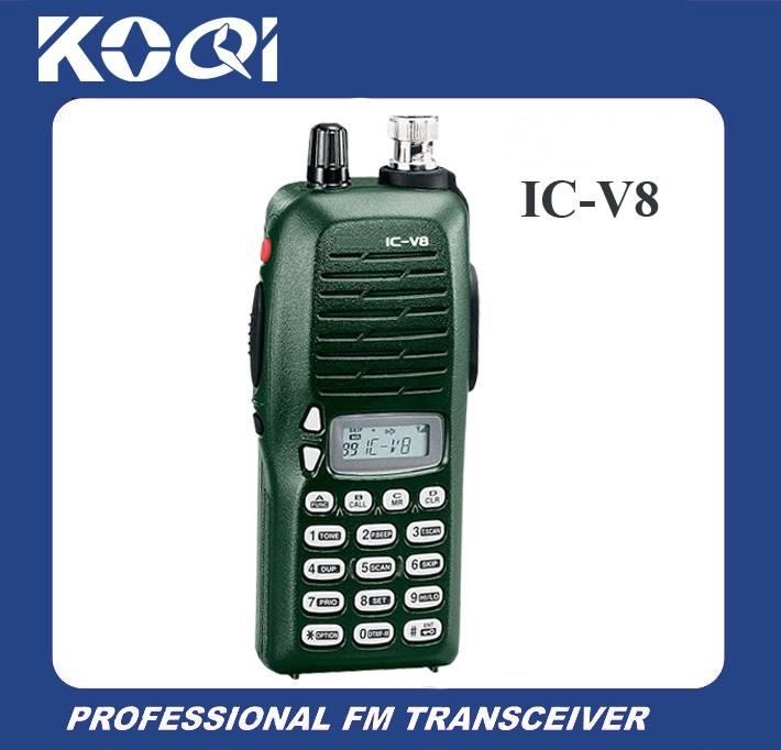 Best Price Walkie Talkie IC-V8 Two way Radio for wireless communication