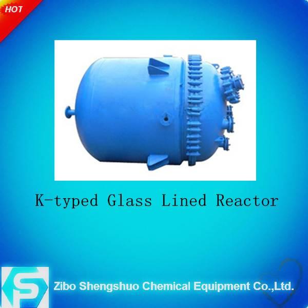 K/F type pressure vessel glass lined reactor((Industrial Enamel))