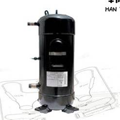 C-SBN373H8D Sanyo Scroll Refrigerator Compressor R410A