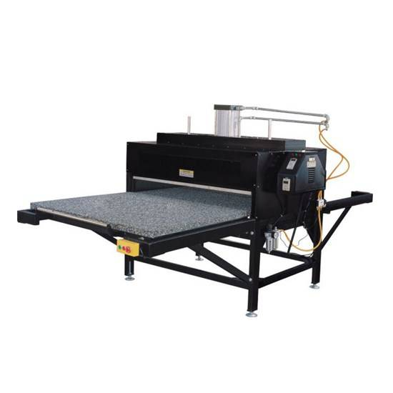 Pneumatic Double Stations Sublimation Heat Press Machine