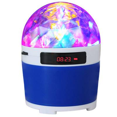 Portable Speaker with LED stage light+FM Radio+USB+Micro SD