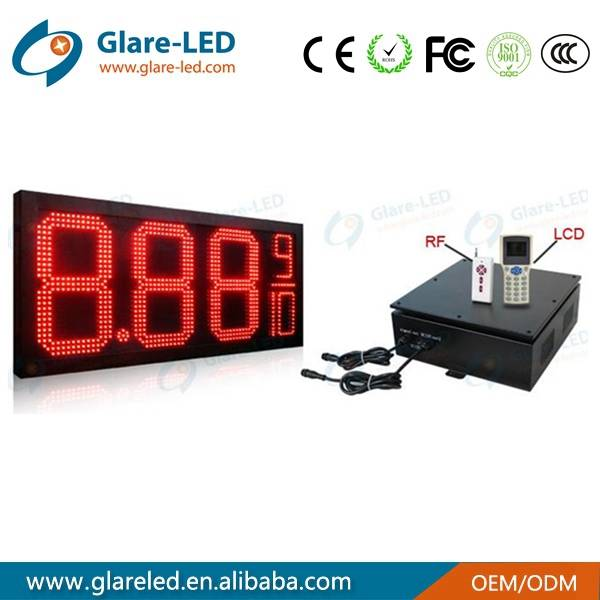 New design led gas price changer