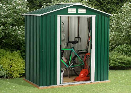 Small Scale Prefab Steel Storage Shed