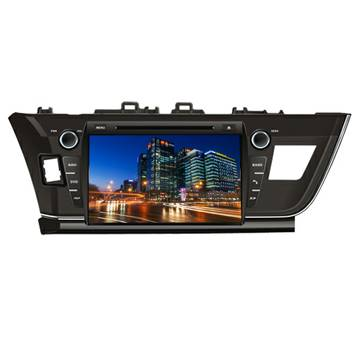 TOYOTA 2014 new corolla Car DVD GPS System Chinese