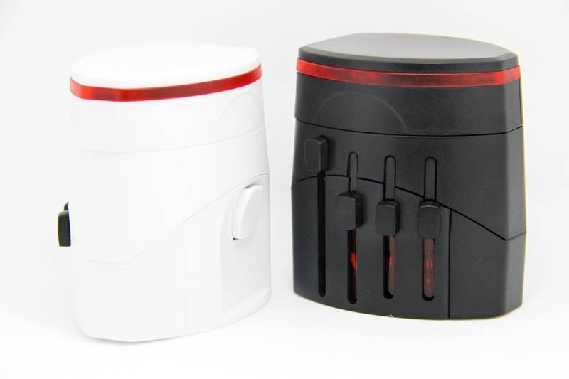 universal adapter with USB port charger