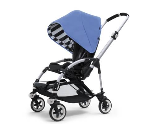 BUGABOO Bee Jewel Blue SE Stroller