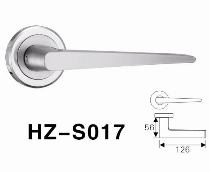 SS304 good quality door handle lock lever handle