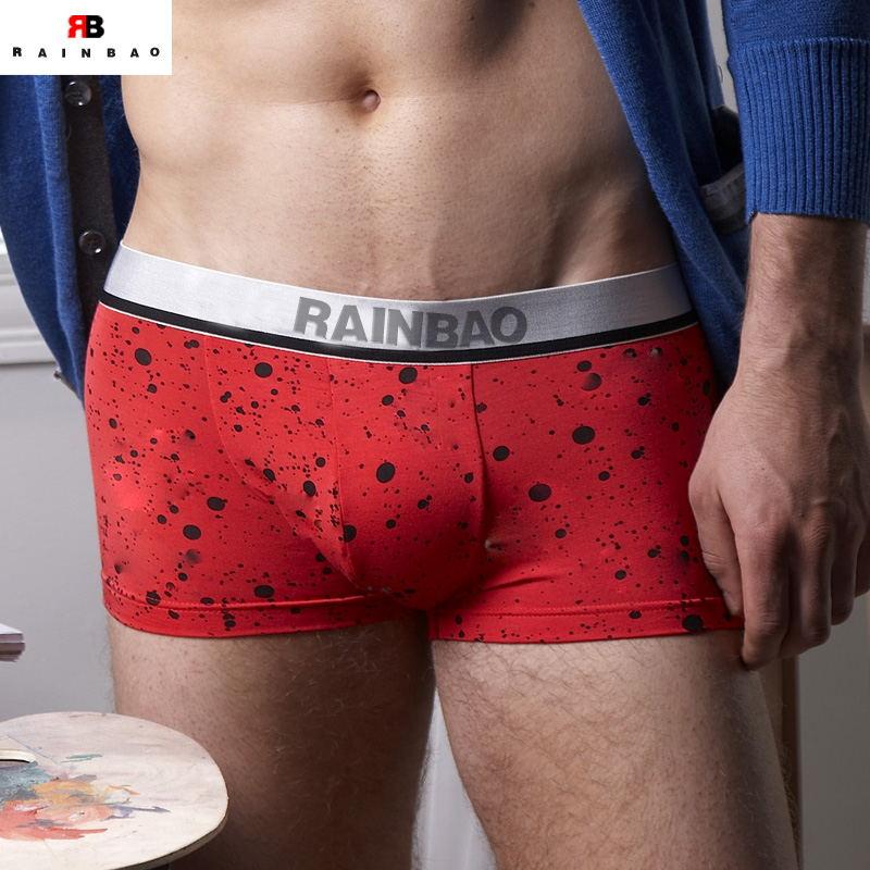 OEM breathable cotton mens underwear boxers
