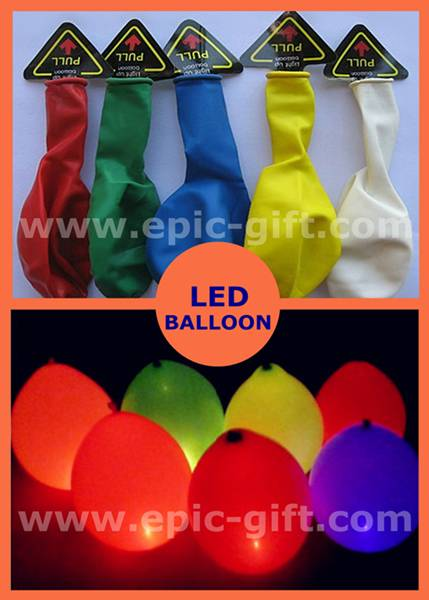 LED balloon for party decoration