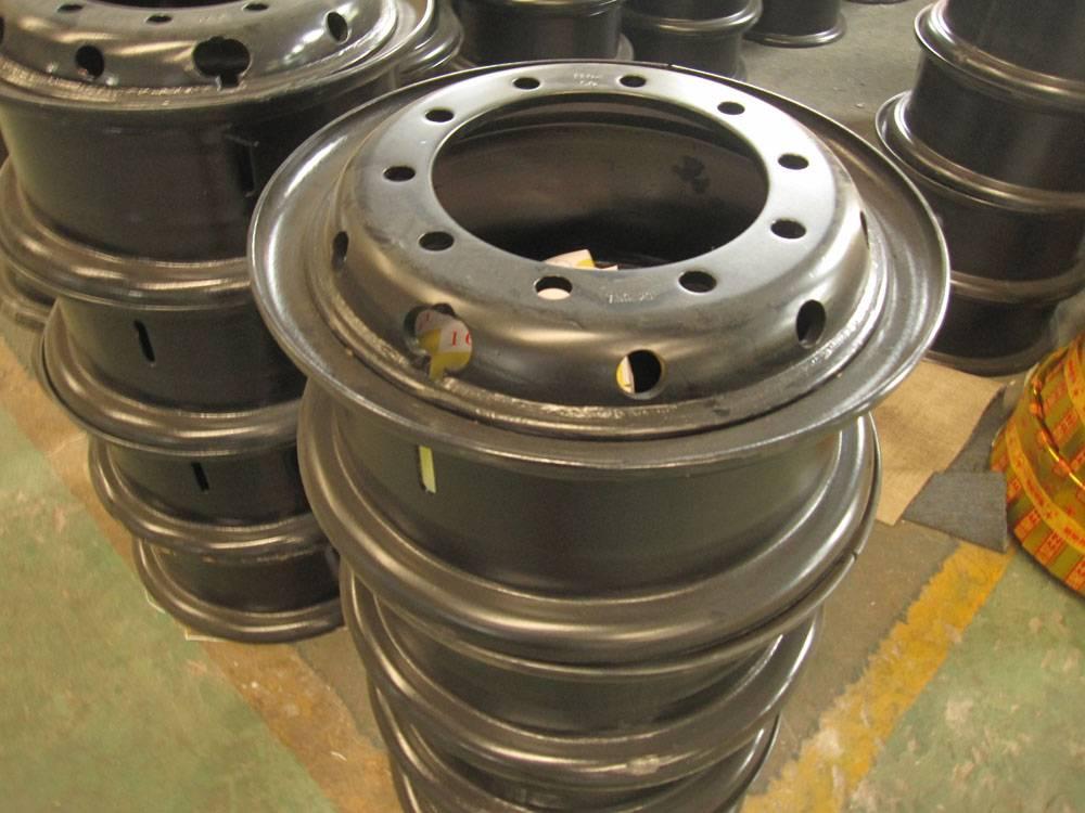 Truck Tubeless Wheel Rims and Trailer Tubeless Wheel Rims