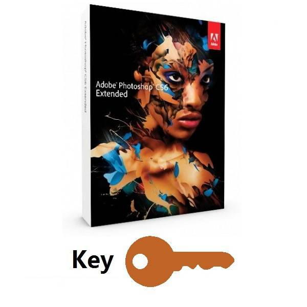 Adobe Photoshop CS6 Extended Key