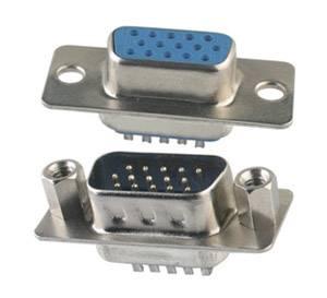 D-SUB Connectors and D-SUB Hoods