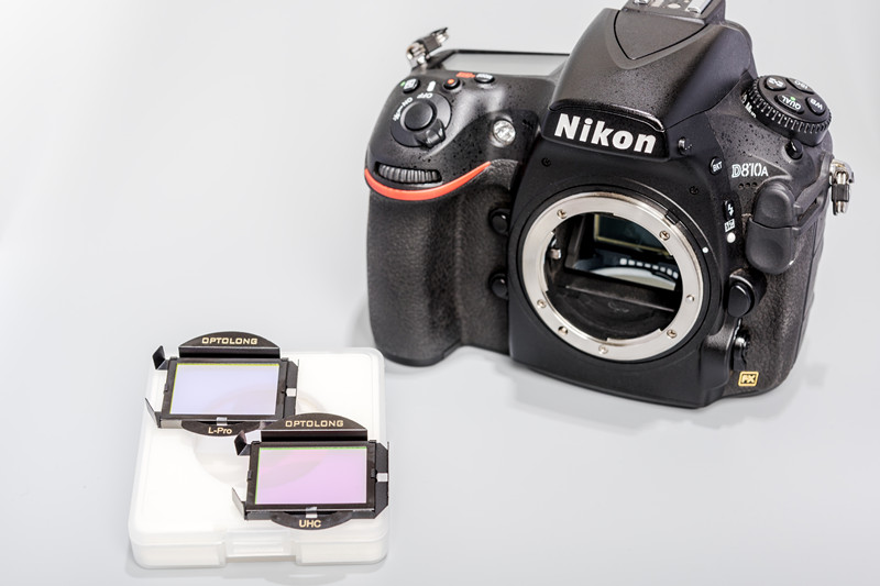 Optolong NK-FF cometitive mix Lpro and UHC clip filter for Nikon full-format cameras