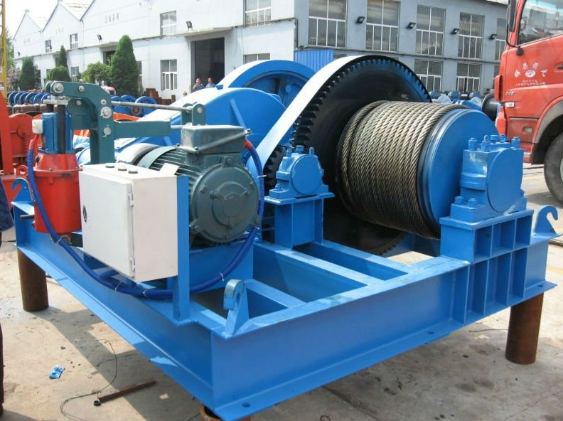 JM type Slip way heavy duty electric anchor winch for boat