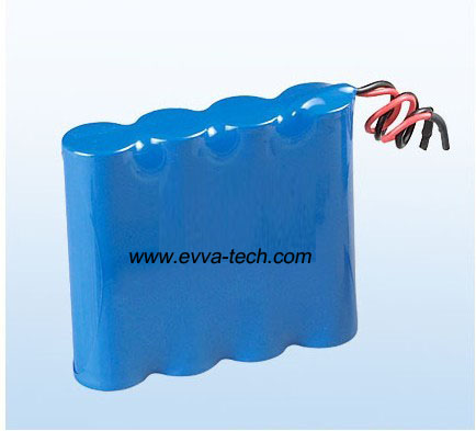 Battery Pack with 18650 7.4V 4400mAh 2S2P