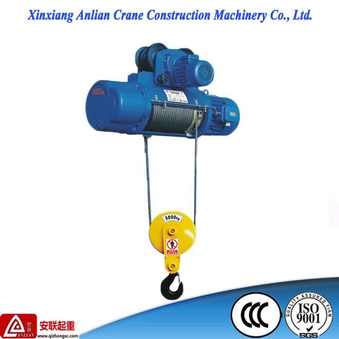crane hoist/ 500kg CD1 small electric wire rope hoist