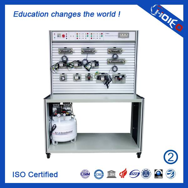 Basic Electro Pneumatic Trainer,technical electronic trainer,vocational training device,education di