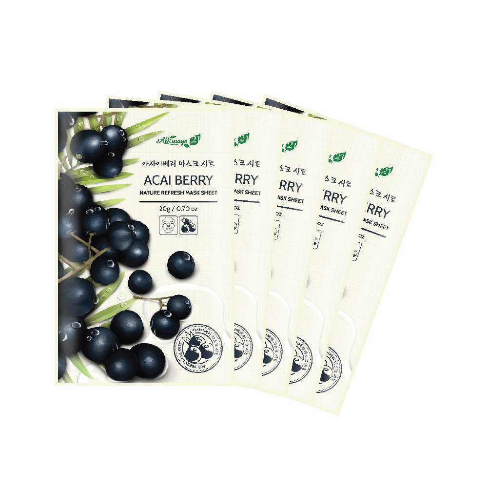 Always21 Nature Refresh Acai Berry Mask Pack
