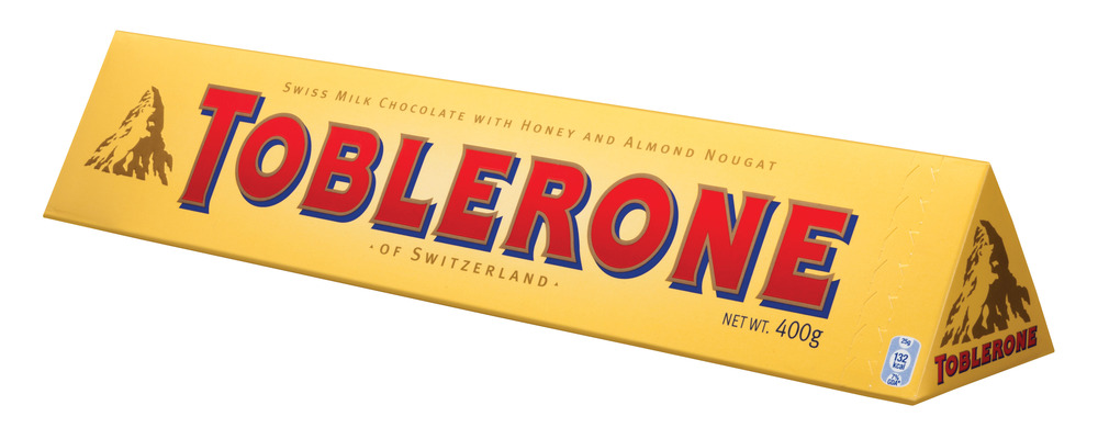 Toblerone Chocolate 100g, HIT Bahlsen 220g, Smarties 38g, Maltesers 37g