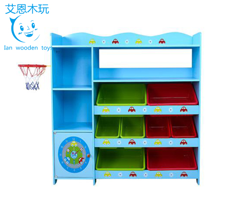 New Design Children's Storage Rack with 4 Levels