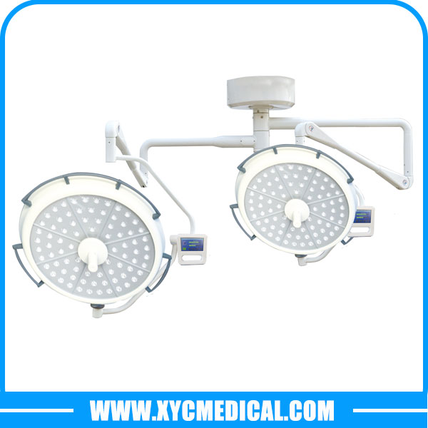 YCLED700500 Hospital Double Heads Surgical Shadowless Lamp LED Operating Light