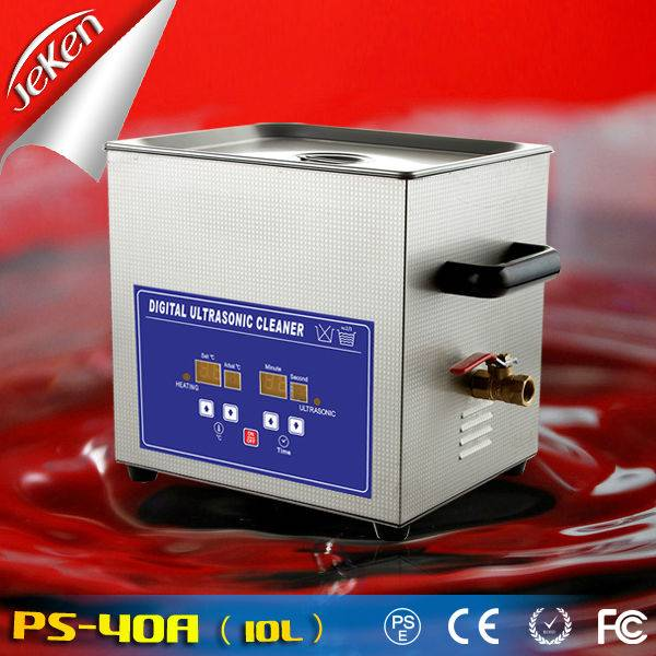 240W Best Used High Quality Digital Portable Ultrasonic Jewelry Cleaner For Sale 10l (Jeken PS-40A,C