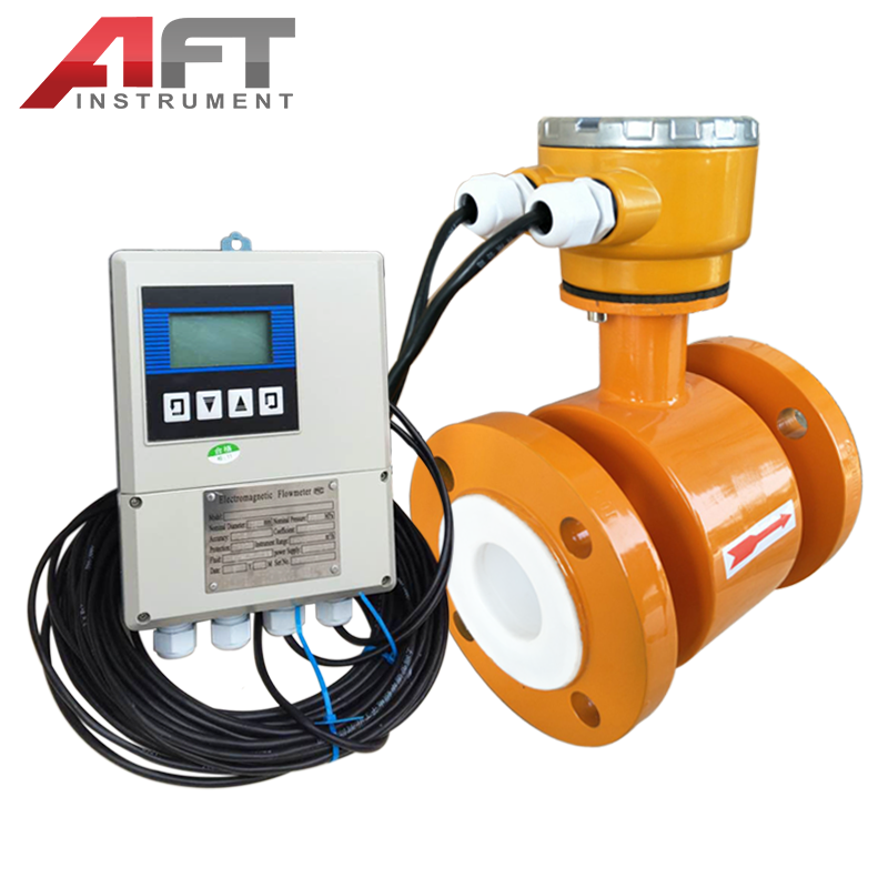 Low Cost Remote Type Electromagnetic Flow meter