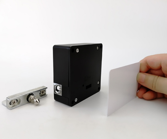 Electronic Hidden Mifare Card Cabinet Lock for Lockers