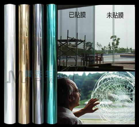 Architectural Glass Safety Window Film