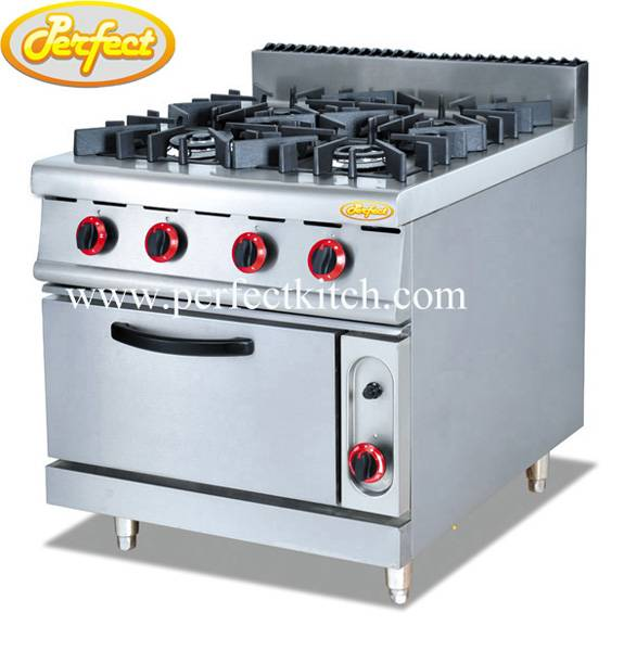 Gas Ranges with 4 Burners and Gas Oven