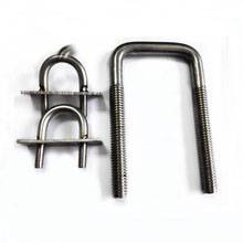 Chinese Manufacturer Stainless steel 304 316 Bent U Bolt A4