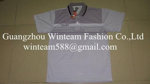 2014 Wholesale 100% polyester print men short sleeve top & t-shirt on sales
