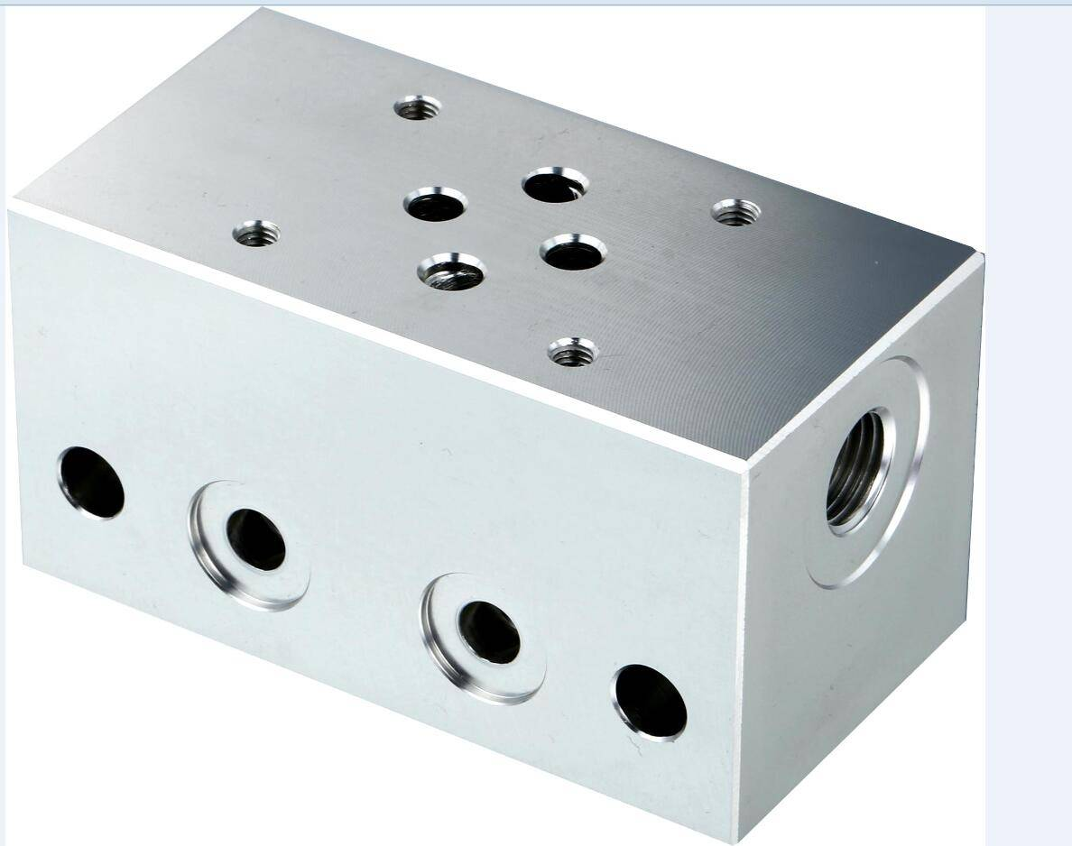 External Manifold Block Valve Block for Connection Central Block