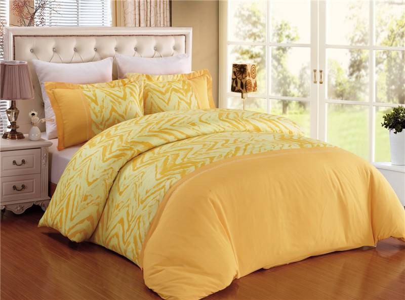 Printed duvet cover set bedding set