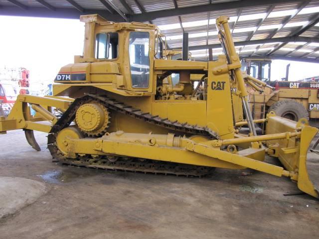 used caterpillar bulldozer, used CAT D7H for sale,used caterpillar
