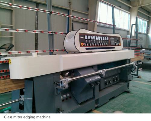 Glass straight line miter edging machine SZ-DJB9