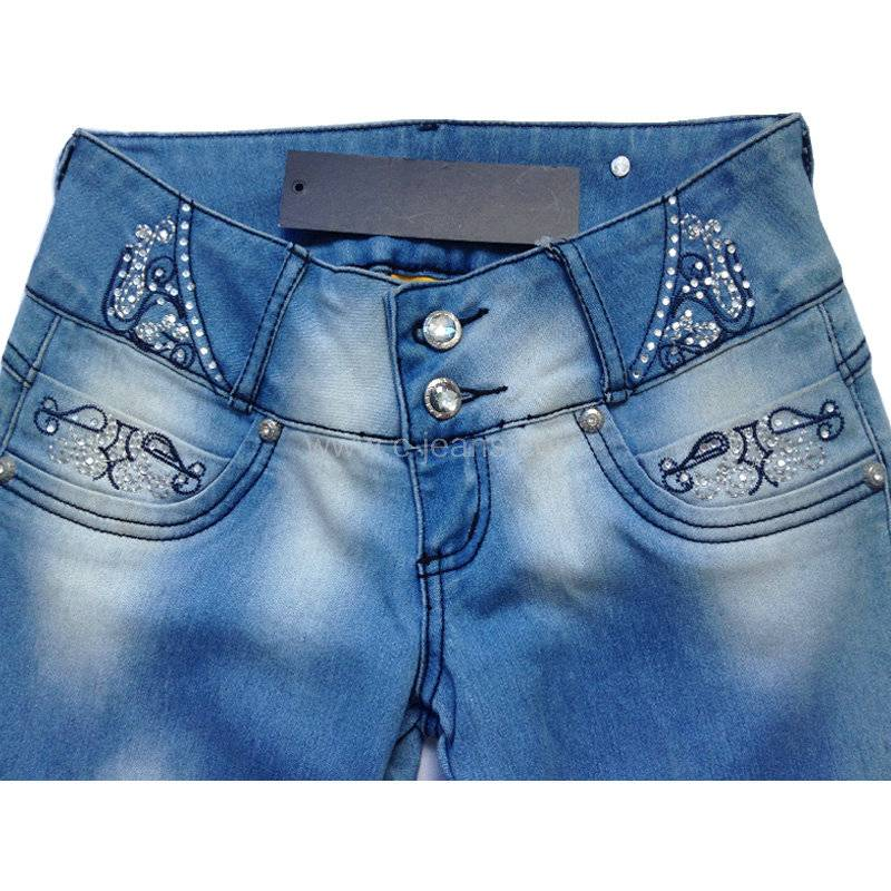 Popular Lady's Fashion Jeans Pants. New Style Girls Sexy Mini Hot Jeans Shorts