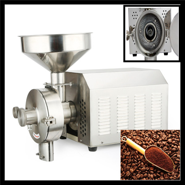 industrial food grinding machine for coffee bean