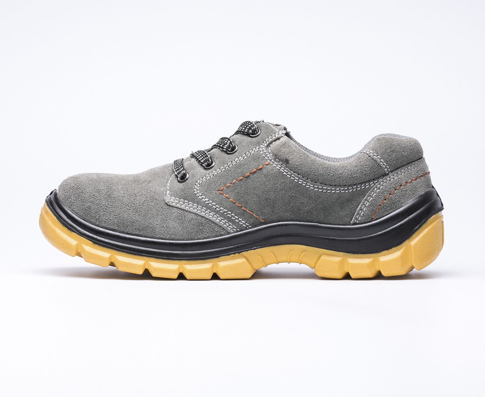 safety work shoes 9157 suede leather pu outsole