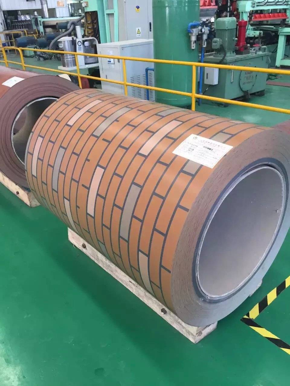 PPGI prepainted galvanized steel coil with wall color