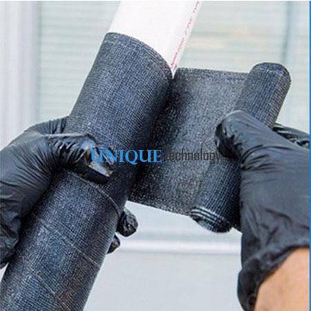Water Activated Fiberglass Pipe Repair Bandage