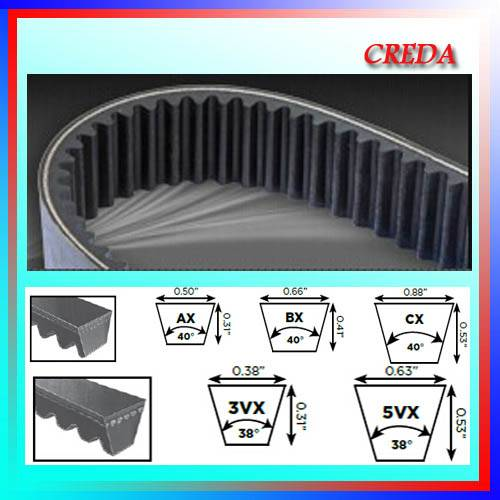 All Size High Quality Raw Edged V-Belt
